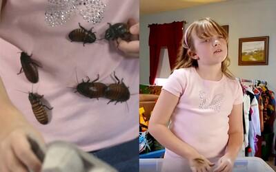 Doma chová více než 7 tisíc švábů a miluje je z celého srdce. Malá Shelby byla hmyzem fascinována již jako 18měsíční holčička