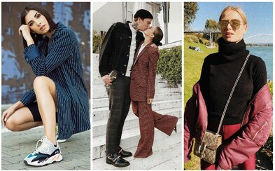 Dominika Cibulková, ale i známé modelky a módní nadšenkyně. Jaké outfity vytáhly Češky a Slovenky během září?