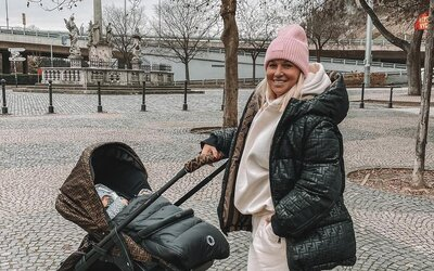 Dominika Cibulková dostala v bratislavskom parku pokutu. Pri venčení psa porušila zákaz