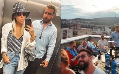 Dominika Cibulková odmieta spájanie s ohňostrojom na streche v Bratislave. Bola som tam pár hodín a ani som ho nevidela, hovorí