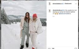 Dominika Cibulková opäť porušuje opatrenia, na Instagram pridala fotku s kamarátkou bez rúška