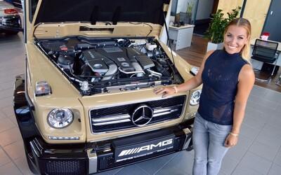 Dominika Cibulková rozširuje svoj vozový park o jedinečný G-čkový Mercedes za približne 200-tisíc €