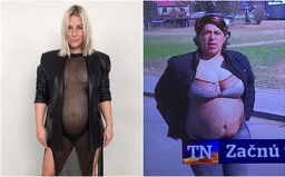 Dominika Cibulková sa odfotila polonahá v sieťke. Z jej fotky sa stalo chytľavé meme