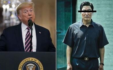 Donald Trump kritizoval oscarového Parazita. Ptá se, proč vyhrál právě film z Jižní Koreje