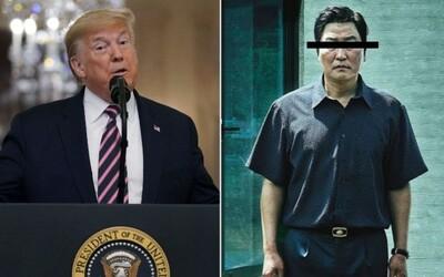 Donald Trump kritizoval oscarového Parazita. Pýta sa, prečo vyhral práve film z Južnej Kórey
