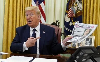 Donald Trump podepsal nařízení, které sociálním sítím ztíží kontrolu a ověřování jeho prohlášení