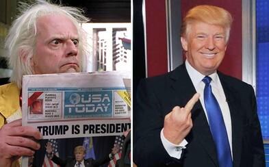 Donald Trump se stává americkým prezidentem a internet vtipně reaguje. Kritika i chvála se valí ze všech stran