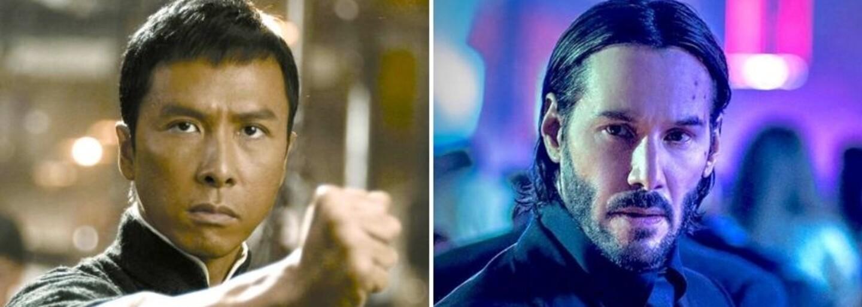 Donnie Yen si zahrá vo filme John Wick 4. Spoločne s Keanu Reevesom budú zabíjať všetkých ostatných!