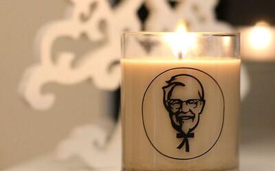 Dopřej si vůni smaženého kuřete v podobě bizarní svíčky od KFC