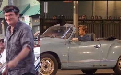 Dorazily další fotky a videa ze zákulisí Tarantinova filmu Once Upon a Time in Hollywood