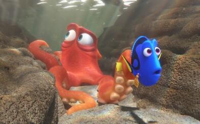 Dory nezostáva v poslednom traileri pre nádherne vyzerajúci animák nič iné, ako stále plávať, stále...