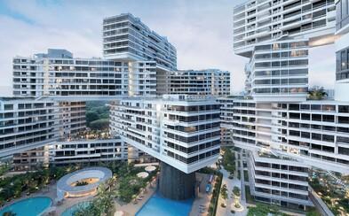 Dosť bolo nudných mrakodrapov. Titul budovy roka získal kreatívny komplex apartmánov zo Singapuru!
