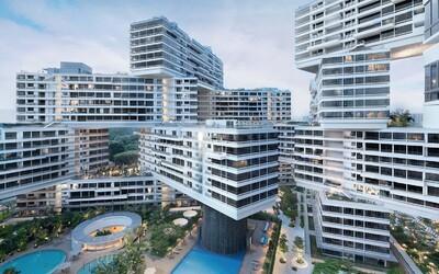 Dost bylo nudných mrakodrapů. Titul budovy roku získal kreativní komplex apartmánů ze Singapuru!