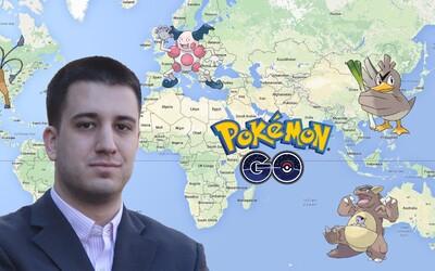 Dostal cestu kolem světa zdarma, aby chytil všechny Pokémony specifické pro jednotlivé regiony. Nick Johnson žije svůj sen