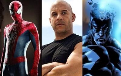 Dostali Spider-Man a Captain Marvel svojich hercov a koho si v MCU zahrá Vin Diesel?