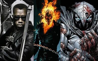 Dostanú sa po vzore Punishera na Netflix aj Blade, Ghost Rider či Moon Knight?
