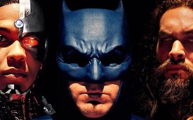 Dotáčky Justice League budou stát tolik peněz a času, že by za ně Warner mohl natočit další film