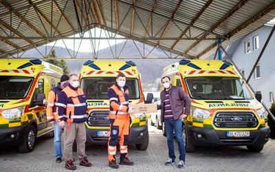 Dôvera dala nemocniciam a záchranárom respirátory za viac ako 100-tisíc eur