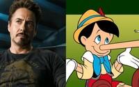 Downeyho Pinocchio sa hýbe vpred, napíše ho Paul Thomas Anderson