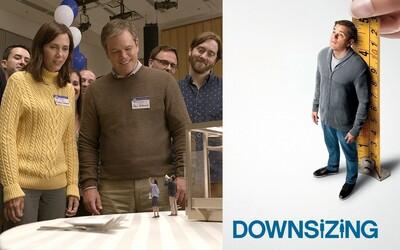 Downsizing nezachránil ani zmenšený Matt Damon. Dostali sme podarenú rodinnú komédiu alebo aspoň kvalitné sci-fi? (Recenzia)