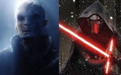 Dozvieme sa v The Last Jedi viac o pôvode Snokea? A ako blízko má Kylo Ren k Vaderovi?