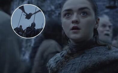 Draci prilietajú na Winterfell a Sansa dostáva brnenie. Finále Game of Thrones sa posúva vpred