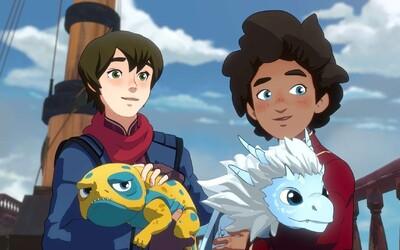 Dragon Prince je inteligentným fantasy seriálom s mágiou a skvelým humorom. Opantajú ťa hlavne jeho postavy (Recenzia)