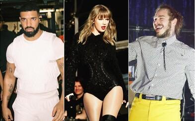 Drake, 6ix9ine, Cardi B aj Taylor Swift. Toto sú najúspešnejší interpreti roku 2018 podľa Billboardu