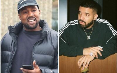Drake dissuje Kanyeho Westa a Pusha T-ho a posiela im faktúru na 100-tisíc dolárov za promo. Komu viac pomáhajú ghostwriteri?