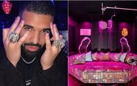 Drake odhalil interiér majestátní rezidence o rozloze téměř 5 tisíc čtverečních metrů