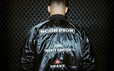 Drake oznamuje vydání nového alba s názvem Scorpion