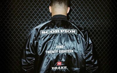 Drake oznamuje vydanie nového albumu s názvom Scorpion