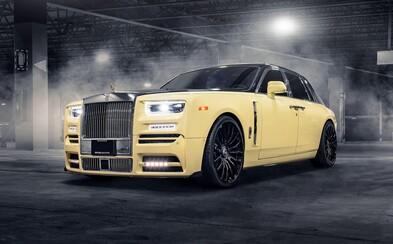 Drake si dal na Rolls-Royce zlatou sovu, která má diamantové oči. Pravděpodobně je dražší než samotné auto