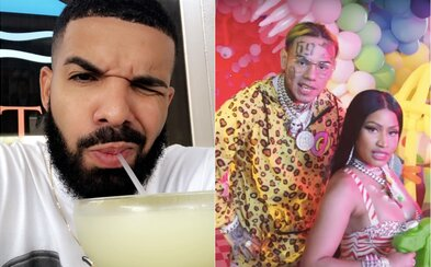 Drake se vysmál 6ix9ineovi. Pobavila se i Nicki Minaj