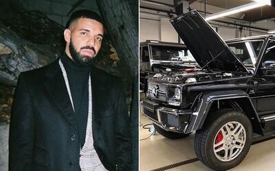 Drake vysolil cez 1 milión dolárov za extrémne limitovaný Mercedes-Maybach