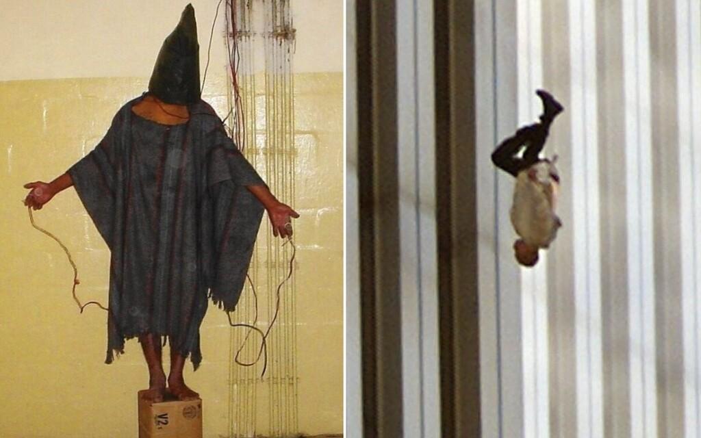 Drastické mučenie v Iraku či výskoky ľudí z Dvojičiek. 10 slávnych fotografií a príbehy, ktoré sa k nim viažu