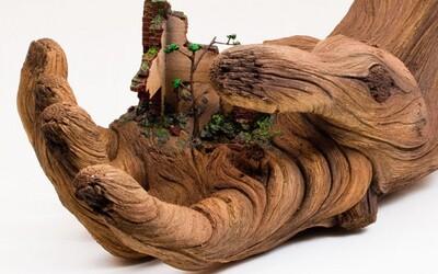 Drevo? Omyl, hyperrealistické modely z hliny vytvára umelec Chris White