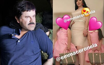 Drogový král El Chapo hnije ve vězení, ale jeho manželka žije luxusním životem, kterým se chlubí na Instagramu