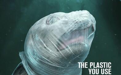 Drsná kampaň poukazuje na utrpení zvířat způsobené plasty. Želvy či delfíni jsou v ohrožení