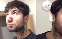 Drsná řež raperů. O víkendu se poprali dva umělci, video z roztržky pak sdíleli na Instagramu
