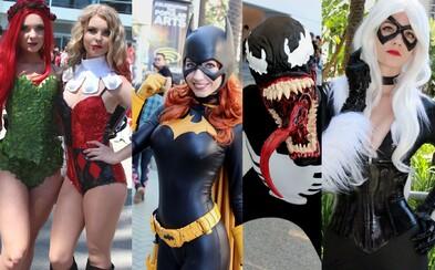 Druhá várka talentovaných a sexy cosplayerov z Wonder Conu stavia hlavne na kvalitných kostýmoch a pohľadných ženách