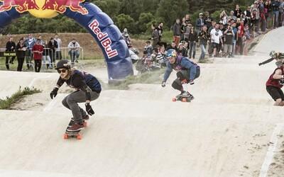 Druhé pokračování longboardových závodů od Red Bullu ovládla zlatá olympionistka Eva Samková