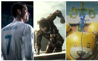 Druhoválečný Battlefield V, nová FIFA i úchvatné sci-fi Anthem. Tohle je to nejlepší z konference EA