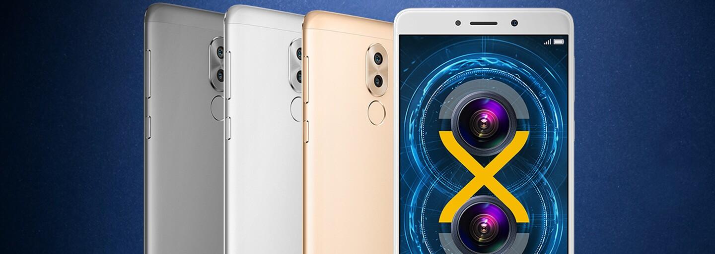 Duálny foťák, Bokeh efekt a cena niečo cez 250 eur. Smartfón Honor 6X nemá strach ani pred iPhone 7 Plus