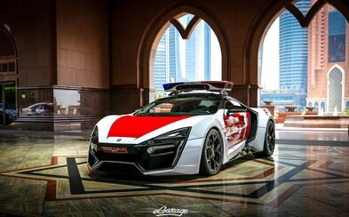 Dubajská polícia hlási ďalší exkluzívny prírastok, 750-koňový Lykan Hypersport za 3,4 milióna $!