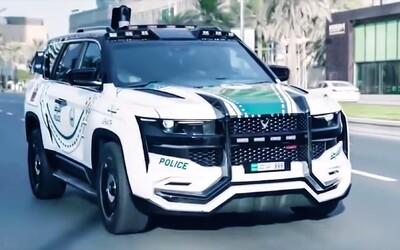 Dubajská policie se chlubí unikátním SUV s nejpokrokovější technologií na světě