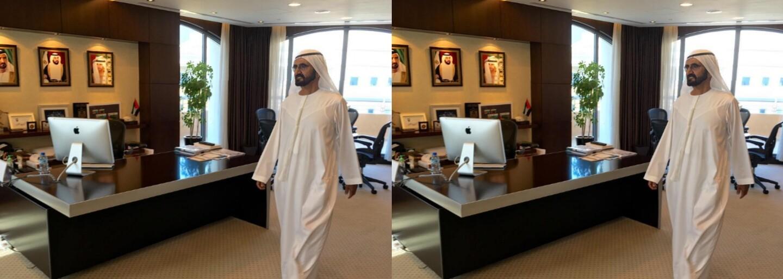 Dubajský emír přišel na vlastní oči zkontrolovat pracovní nasazení v jednom z úřadů. Devět lidí druhý den vyhodil z práce