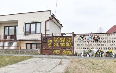 Dům Jána Kuciaka a Martiny Kušnírové chtějí zbourat. Jejich rodiče tam plánují vybudovat park a pietní místo