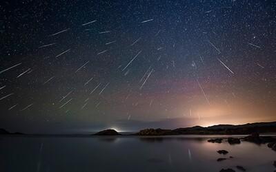 Dva meteorické roje sa spoja do nádherného nebeského divadla. Nočnú oblohu rozžiari vzácny úkaz