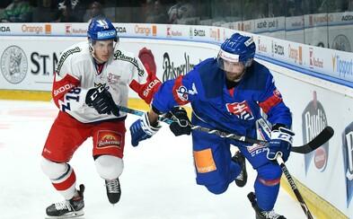 Dva zápasy proti Čechom, dve prehry. Slovenskí hokejisti zatiaľ pred MS nenašli ideálnu formu